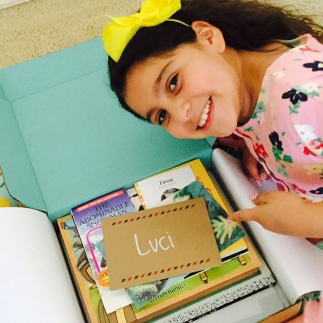 Luci got her July ClubSage and shared a photo! Thankshellip