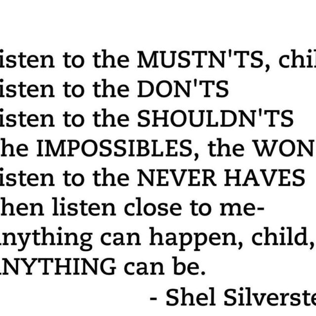 fridayfeeling   books bookstagram poetry shelsilverstein inspiration anythingcanbe amreadinghellip