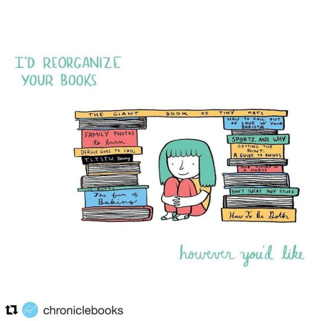 Could you would you reorganize our books? NovelHangout readingnook chroniclebookshellip