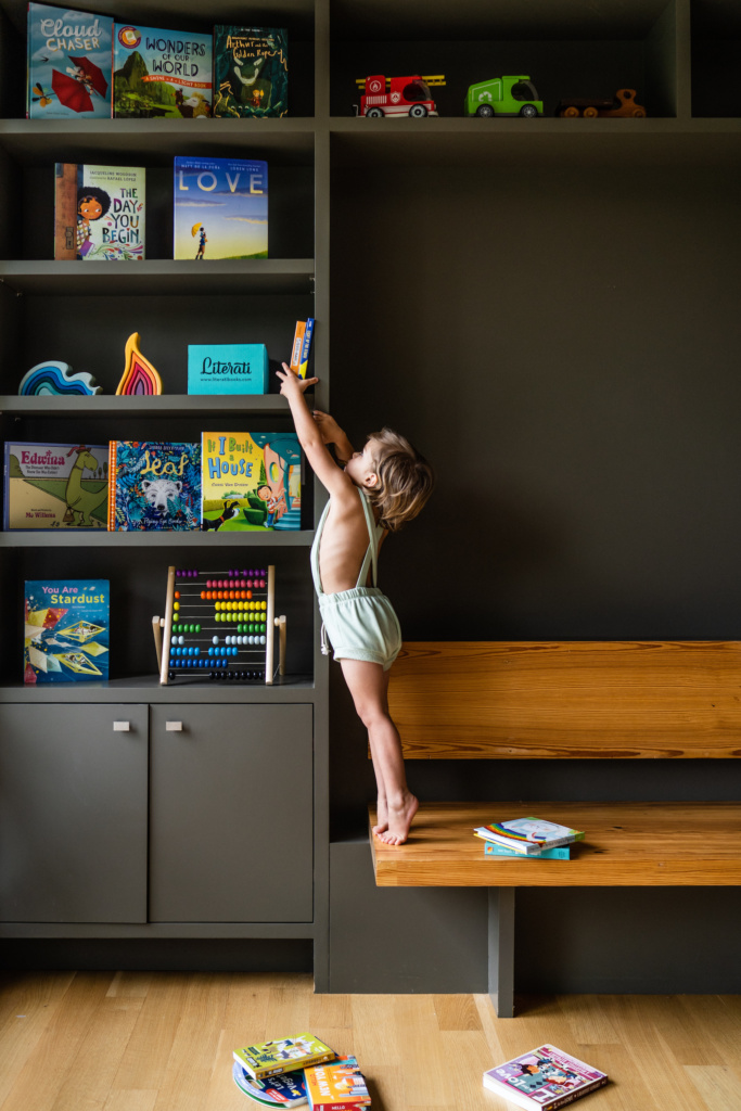 Having books in the home has a huge influence on a child's educational success.