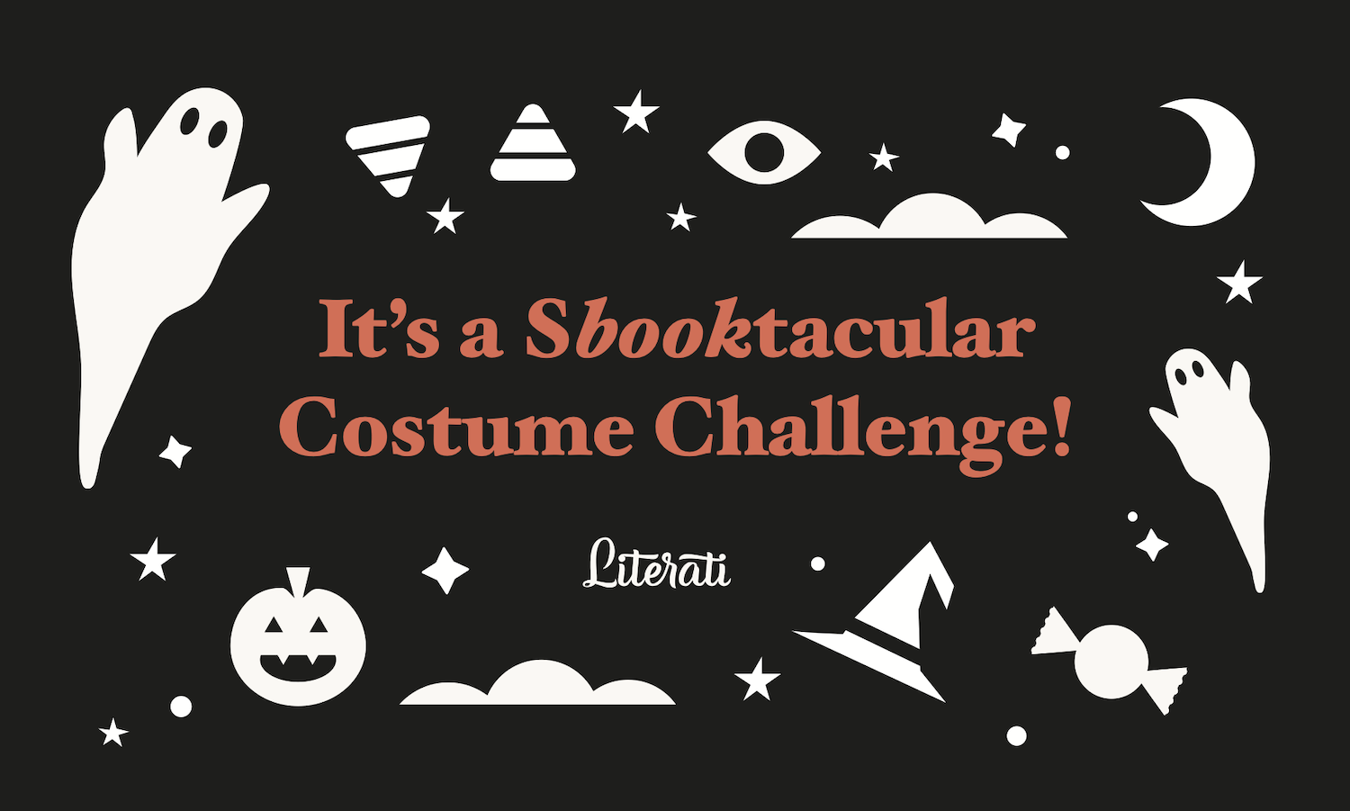 """Our """"Book or Treat"""" October Community Challenge is back!"""